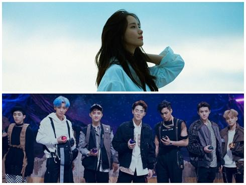 Yoona hát solo, EXO điển trai như những thiên thần trong truyện tranh