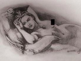 Sự thật về cảnh vẽ khỏa thân nổi tiếng trong 'Titanic'