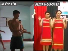 Nam sinh Thái Nguyên múa 'Chiều lên bản thượng'