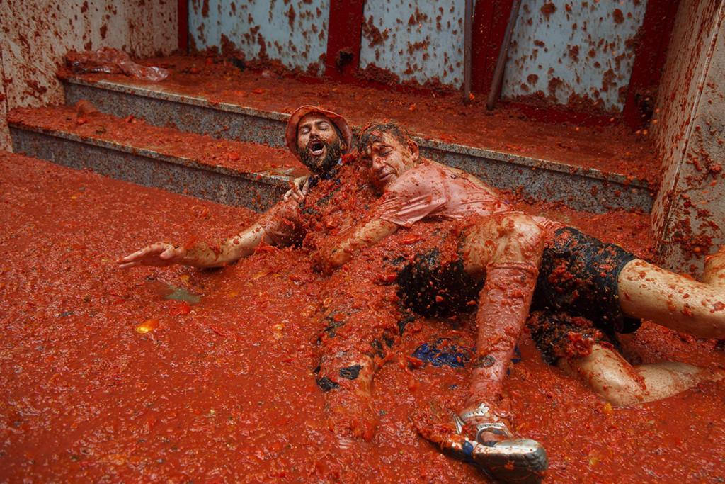 La Tomatina: Cuộc chiến cà chua lớn nhất thế giới-7
