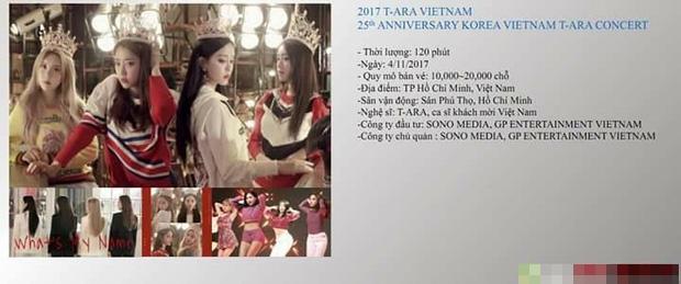 Xôn xao thông tin T-Ara tổ chức concert riêng tại Việt Nam vào tháng 11-2