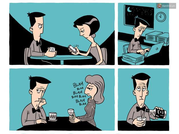 Bộ tranh: Khi bạn yêu ai đó, hãy để họ tự do-3