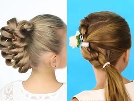 6 kiểu tóc biến hóa cho bé yêu thêm xinh ngày 'Back to School'