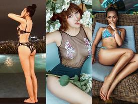 Nhờ đâu 4 mỹ nữ Việt nóng bỏng này có 'vòng ba hơn 1 mét'?