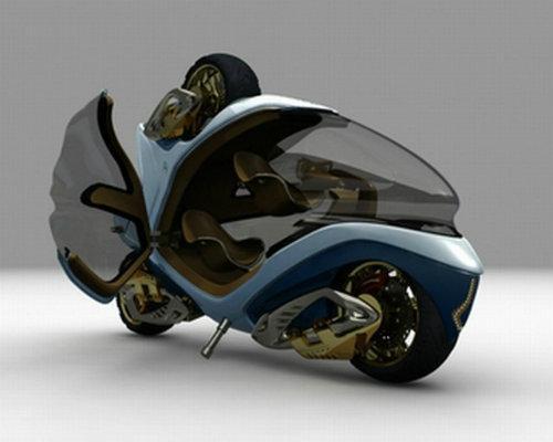 Top 10 mẫu xe môtô kì quặc nhất hành tinh (P1)-2