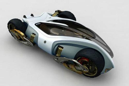 Top 10 mẫu xe môtô kì quặc nhất hành tinh (P1)-3