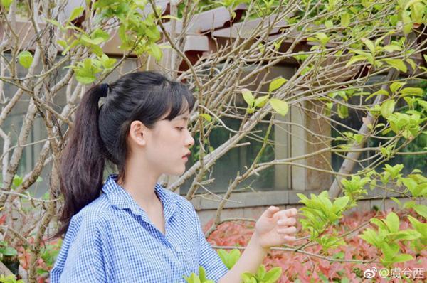 Nhan sắc đẹp xuất sắc của cô nàng lọt top 10 nữ sinh xinh đẹp nhất Trung Quốc-5