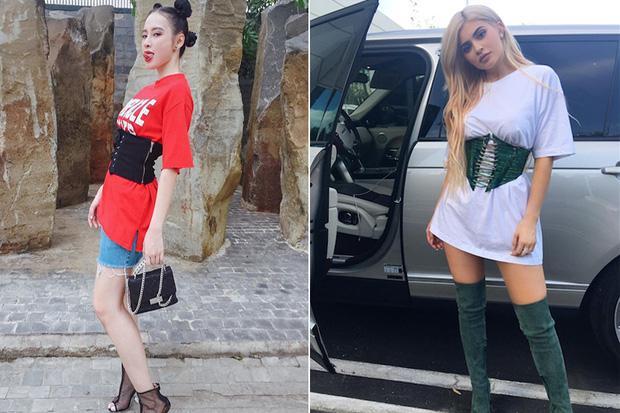 Angela Phương Trinh đã chán Phạm Băng Băng, gồng mình học style của Kylie Jenner?-9