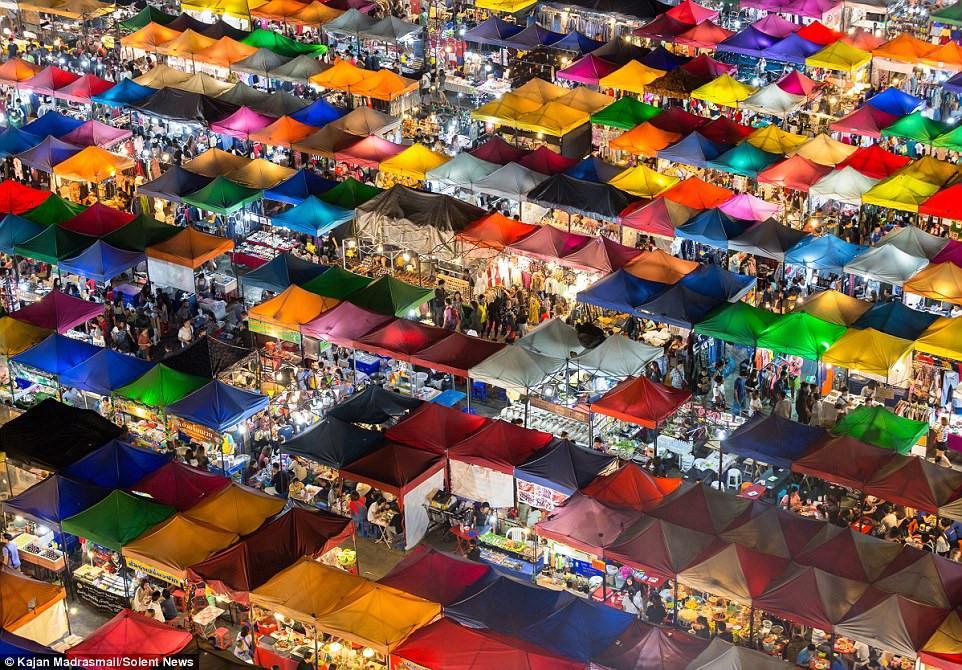 Chợ đêm khổng lồ ở Thái Lan-4