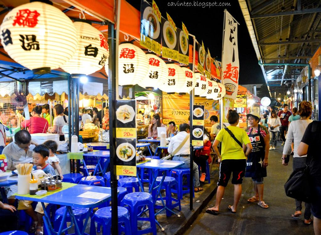 Chợ đêm khổng lồ ở Thái Lan-5