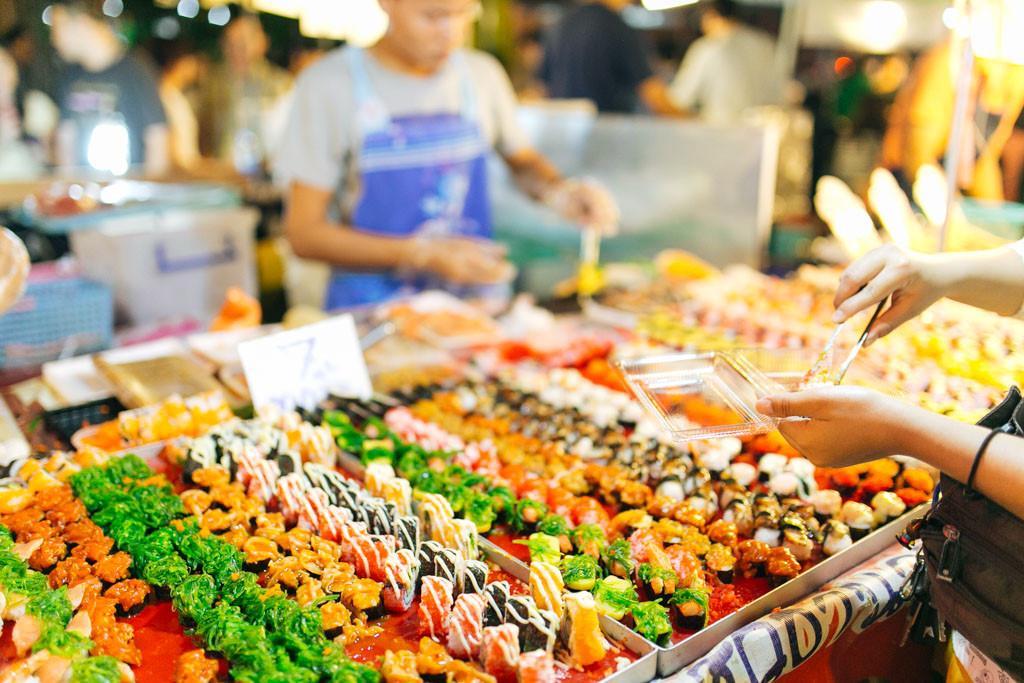 Chợ đêm khổng lồ ở Thái Lan-6