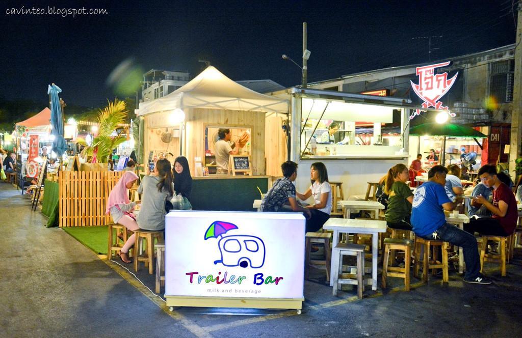 Chợ đêm khổng lồ ở Thái Lan-7