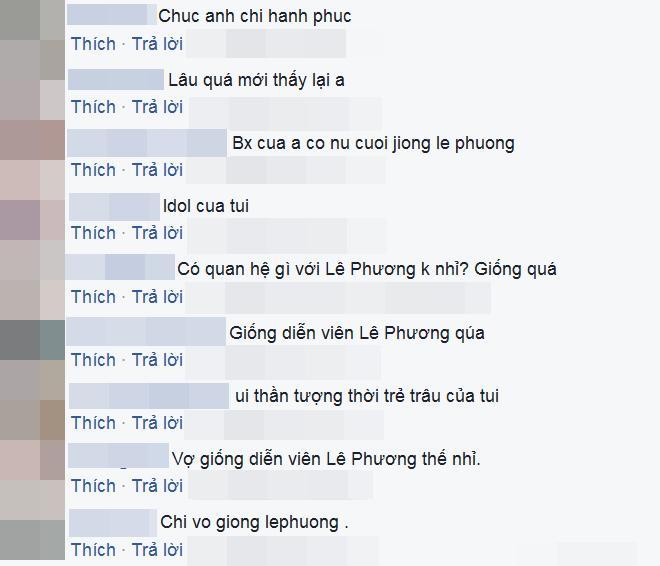 Fan giật mình nhận ra vợ mới kém 10 tuổi của Vân Quang Long quá giống Lê Phương-3