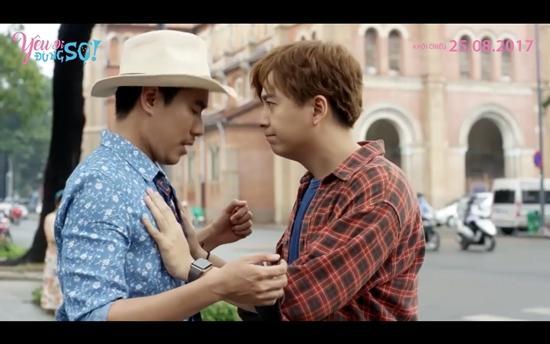 Kiều Minh Tuấn cảm thấy bị xúc phạm khi phải hôn Ngô Kiến Huy-1