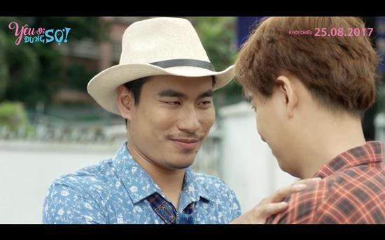 Kiều Minh Tuấn cảm thấy bị xúc phạm khi phải hôn Ngô Kiến Huy-3