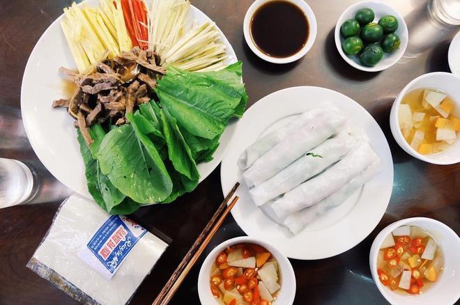 Phở cuốn mang nét ẩm thực hiện đại của Hà Nội