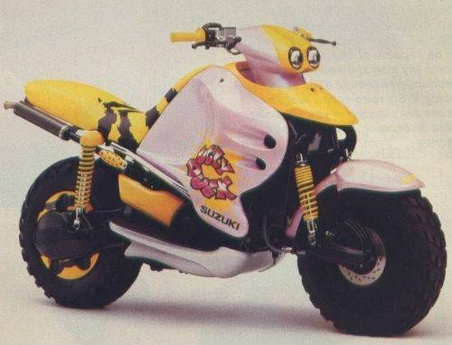 Top 10 mẫu xe môtô kì quặc nhất hành tinh (P2)-1