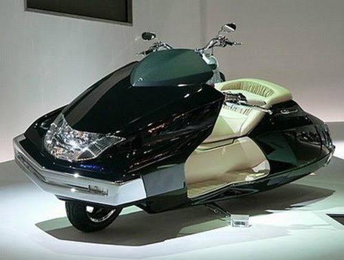Top 10 mẫu xe môtô kì quặc nhất hành tinh (P2)-2