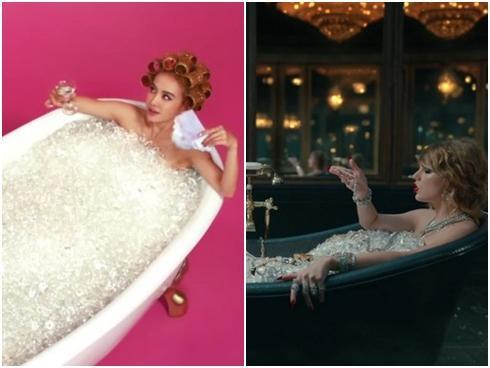 """""""LWYMMD"""" của Taylor Swift bị tố đạo MV của """"Nữ hoàng vũ đạo Cpop"""" Thái Y Lâm"""
