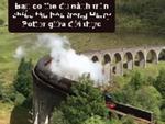 Du hành trên chiếc tàu hỏa Harry Potter giữa đời thực