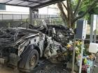 Chiếc xe ô tô bị đâm nát, sở cảnh sát Nhật Bản đem về 'thờ' và câu chuyện khiến nhiều người rơi nước mắt