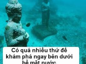 Thám hiểm ngôi đền tượng Phật bí ẩn dưới đáy biển
