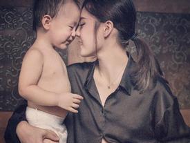 Nghẹn ngào với tâm thư cựu hot girl Lâm Á Hân nhắn nhủ con trai