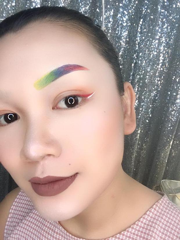 Cả thế giới ra mà xem bộ sưu tập lông mày siêu bá đạo của cô gái Việt xinh đẹp-5