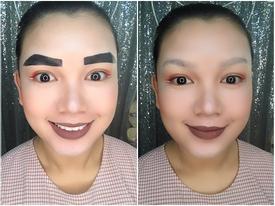 Cả thế giới ra mà xem bộ sưu tập lông mày siêu bá đạo của cô gái Việt xinh đẹp