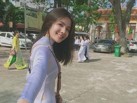 Cô gái năm ấy chúng ta theo đuổi phiên bản Việt với áo dài trắng và nụ cười cực xinh