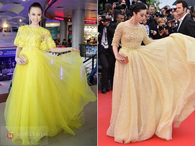 Thiên hạ đệ nhất sao chép phong cách của showbiz Việt: Angela Phương Trinh?-2