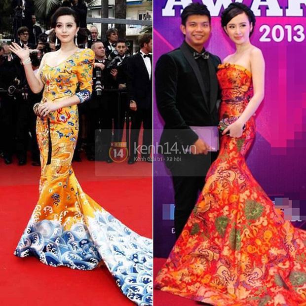 Thiên hạ đệ nhất sao chép phong cách của showbiz Việt: Angela Phương Trinh?-3