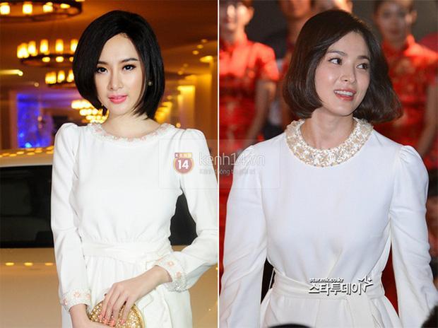 Thiên hạ đệ nhất sao chép phong cách của showbiz Việt: Angela Phương Trinh?-9