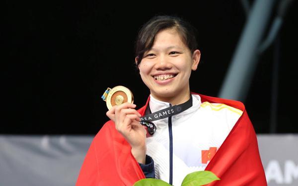 Giành 8 huy chương vàng SEA Games 29, Ánh Viên trở thành Gương mặt truyền hình ấn tượng-1