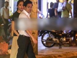Hoa hậu Thu Thảo xuất hiện 'tay trong tay' tình tứ cùng chồng sắp cưới trên phố