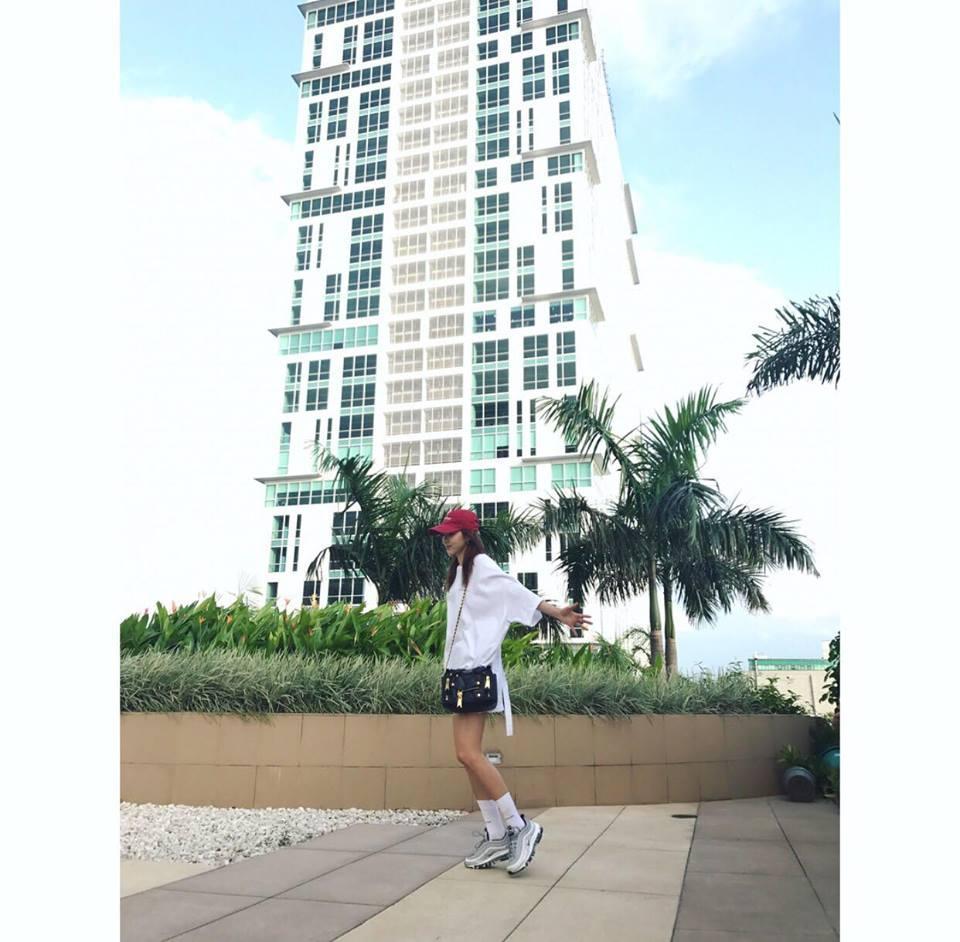 Dara diện phong cách cái bang - CL rườm rà nhất bảng street style Hàn tuần này-4