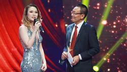 Mỹ Tâm bị MC Lại Văn Sâm 'chê' muộn chồng trên sóng truyền hình