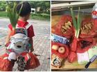 Hành trang siêu độc của nhóc tì Trung Quốc ngày đầu tiên tới trường