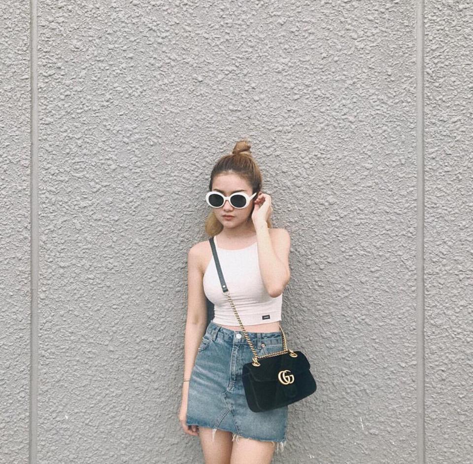 Bộ ba chân dài Tú Hảo - Ánh Quỳnh - Tường Linh đồng loạt khoe street style cực bắt mắt-8