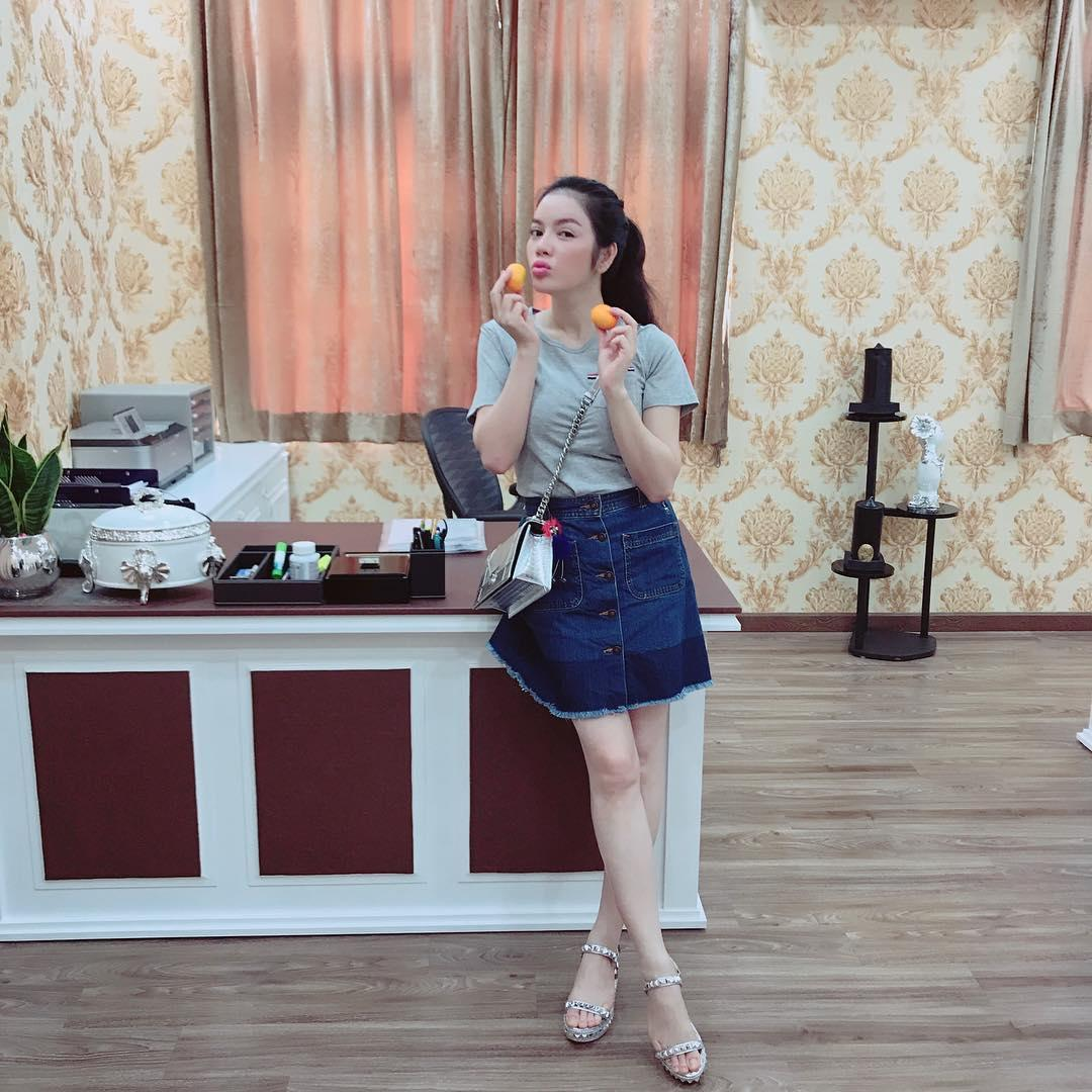 Tin sao Việt 8/9: Lê Phương thích thú khi nhận ra hai vợ chồng có tướng phu thê-4