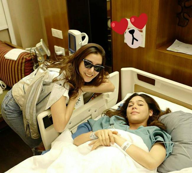 Mỹ nhân đẹp nhất Thái Lan Chompoo Araya khoe cặp song sinh vừa chào đời-10