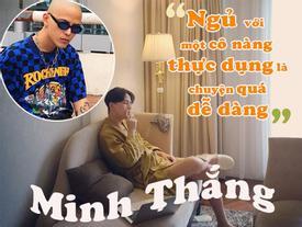 Hot girl - hot boy Việt 9/9: Decao phát ngôn shock 'ngủ với những cô nàng thực dụng là điều quá dễ dàng'
