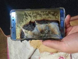 Điện thoại Galaxy Note 7 phát nổ