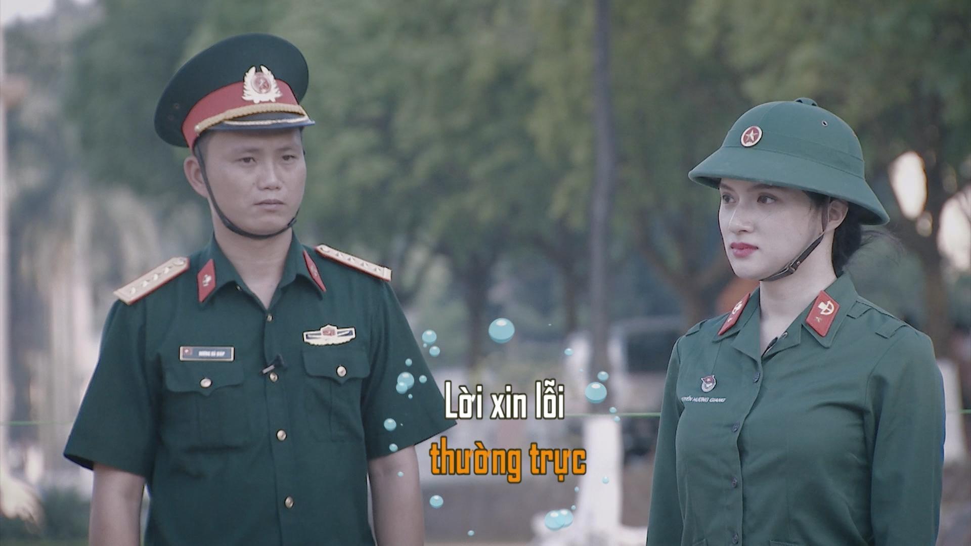 Hương Giang Idol bị chấn chỉnh vì nói năng điệu đà trong quân ngũ-6