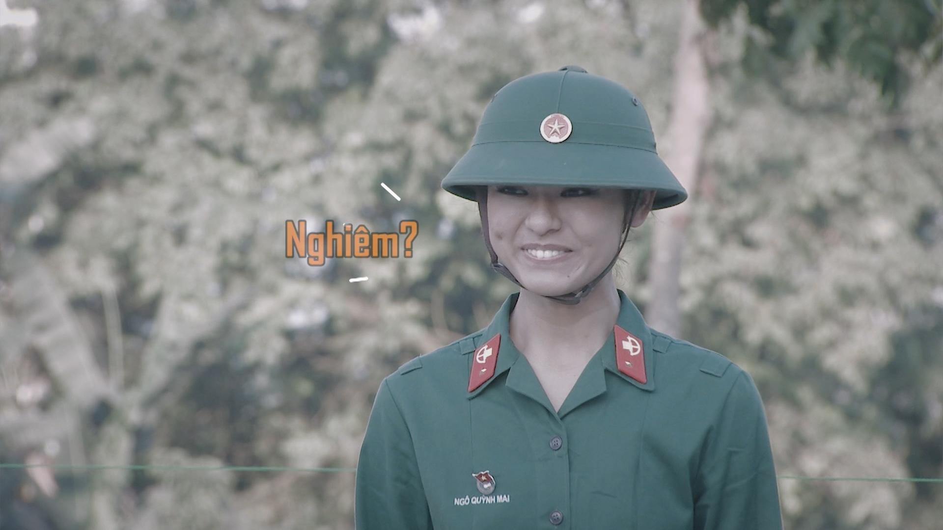 Hương Giang Idol bị chấn chỉnh vì nói năng điệu đà trong quân ngũ-7