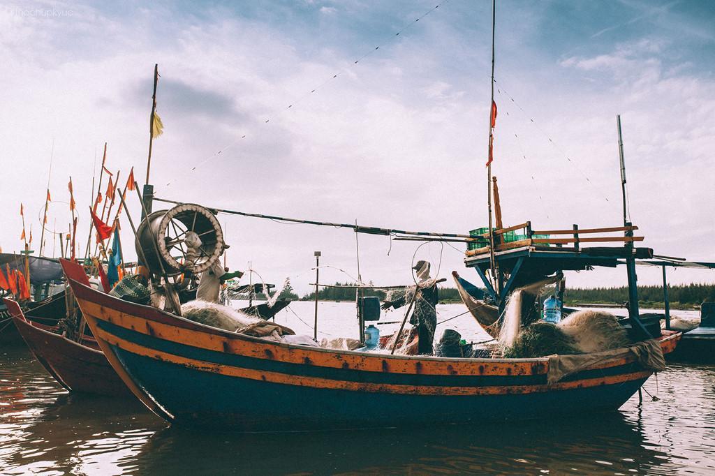 Cảng cá Lộc An: Nét đẹp mộc mạc của người dân miền biển-7