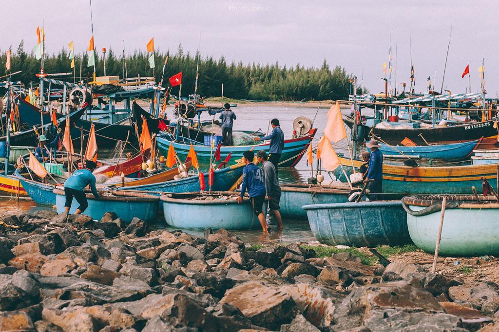 Cảng cá Lộc An: Nét đẹp mộc mạc của người dân miền biển-8