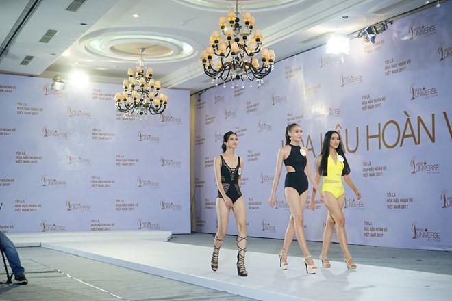 Hoàng Thùy diện bikini nổi bật ở Hoa hậu Hoàn vũ Việt Nam-3