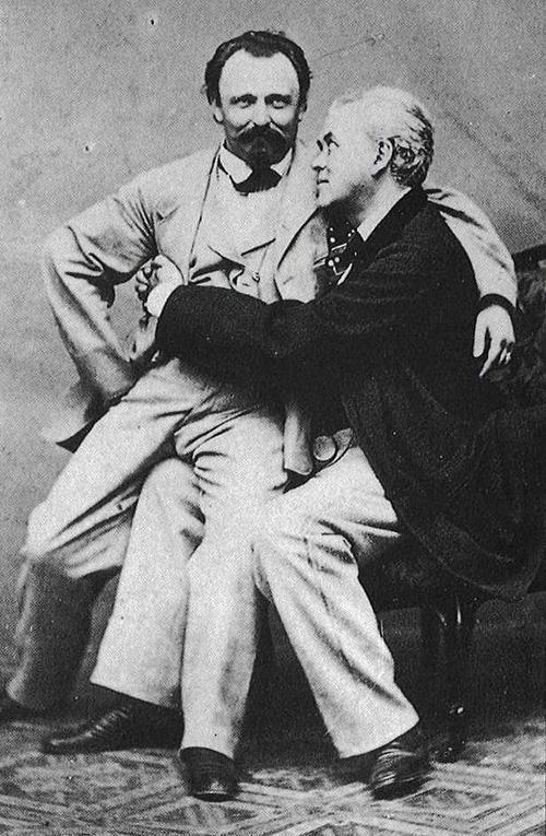 Những hình ảnh thân mật của các chàng trai cách đây 100 năm: Đồng tính không phải trào lưu-2