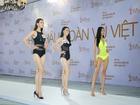 Hoàng Thùy diện bikini nổi bật ở Hoa hậu Hoàn vũ Việt Nam